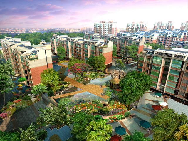 1tb硬盘装园林景观设计规划资料 最新景观效果图psd后期素材