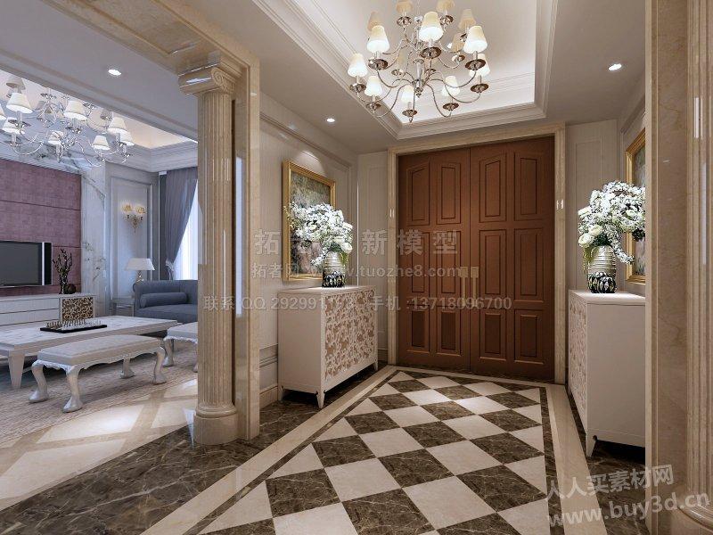 拓者550套室内模型/3d室内设计   豪宅设计,装修效果图,上