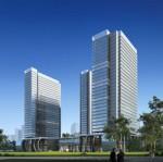 F套著名公司建筑效果图分层PSD图库